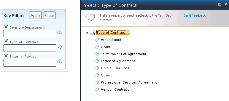 Carver County SharePoint Contract Management 4